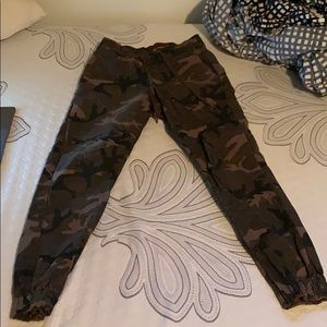 Other - Tainted denim camo joggers size 28